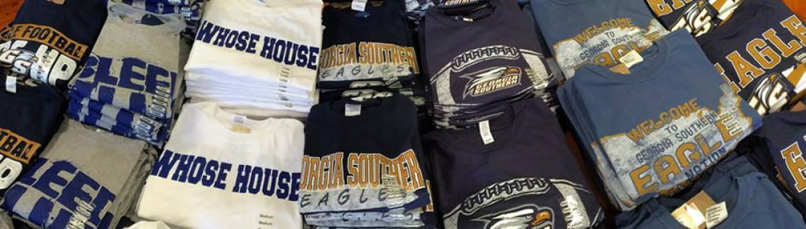 Get Georgia Southern clothing at the University Store